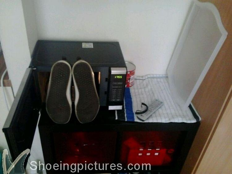Shoeingpictures.com: Help, my microwave is killing me!